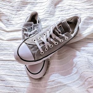 Light Grey Converse Shoes